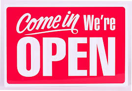 Open Noon - 4PM
