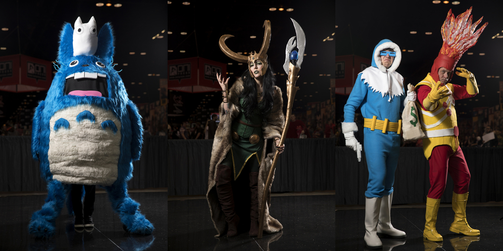 Costumes and cosplay from Friday, April 6 and Saturday, April 7, 2018, at the Chicago Comic & Entertainment Expo at McCormick Place in Chicago. (Erin Hooley/Chicago Tribune)