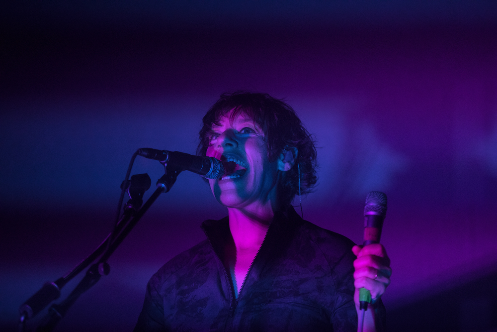 Tune-Yards' Merrill Garbus performs at Thalia Hall on March 3, 2018, in Chicago. (Erin Hooley / Chicago Tribune)