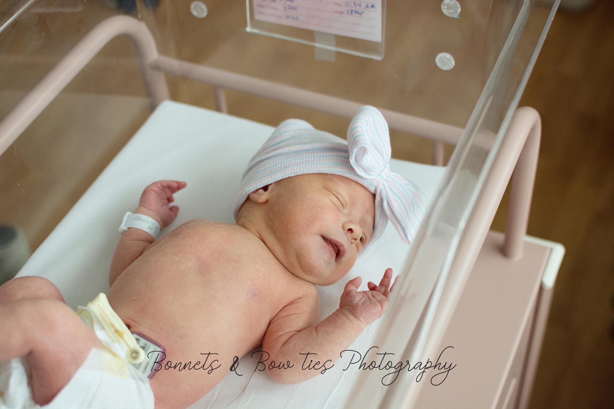 bay girl newborn fresh 48