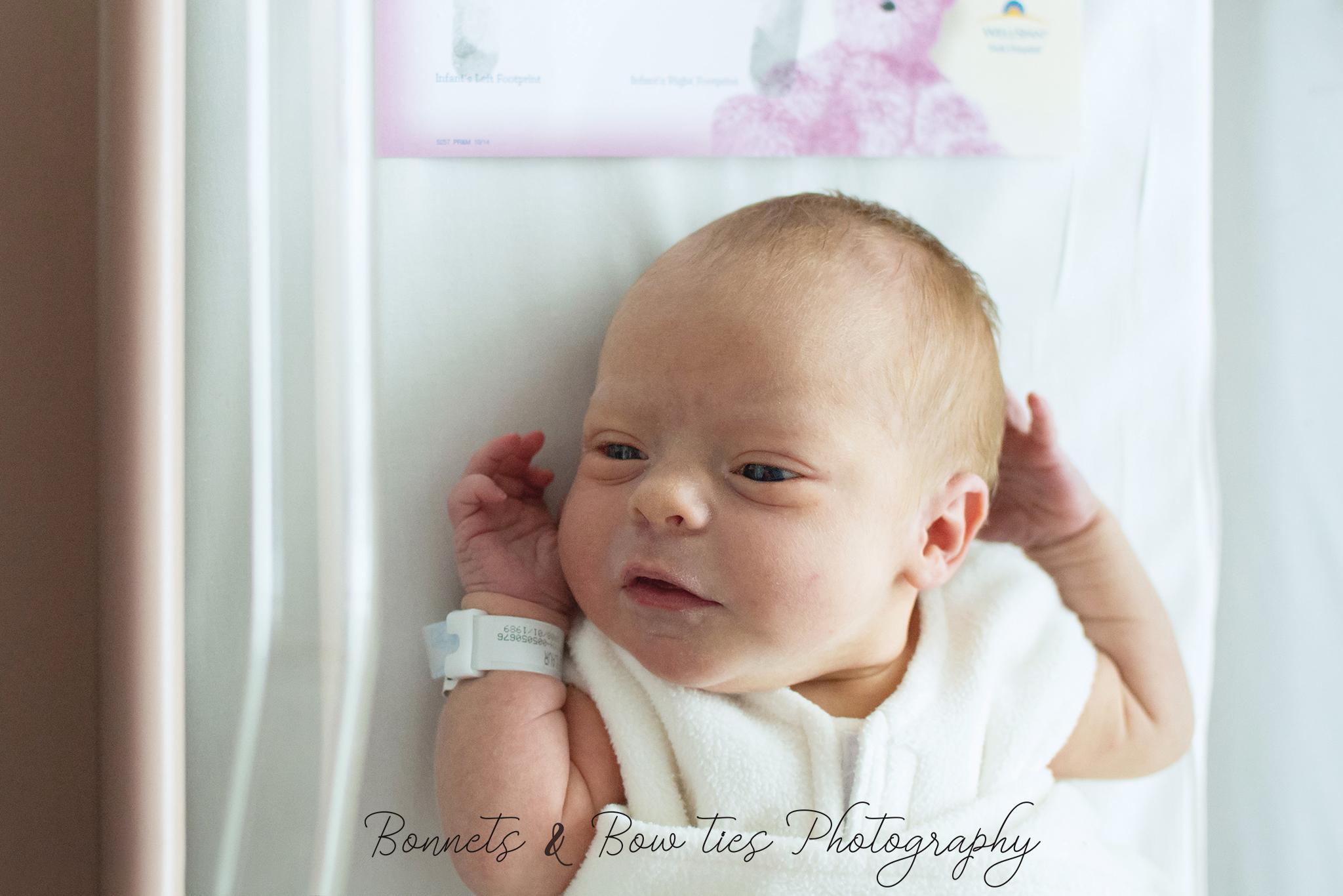 hospital newborn girl