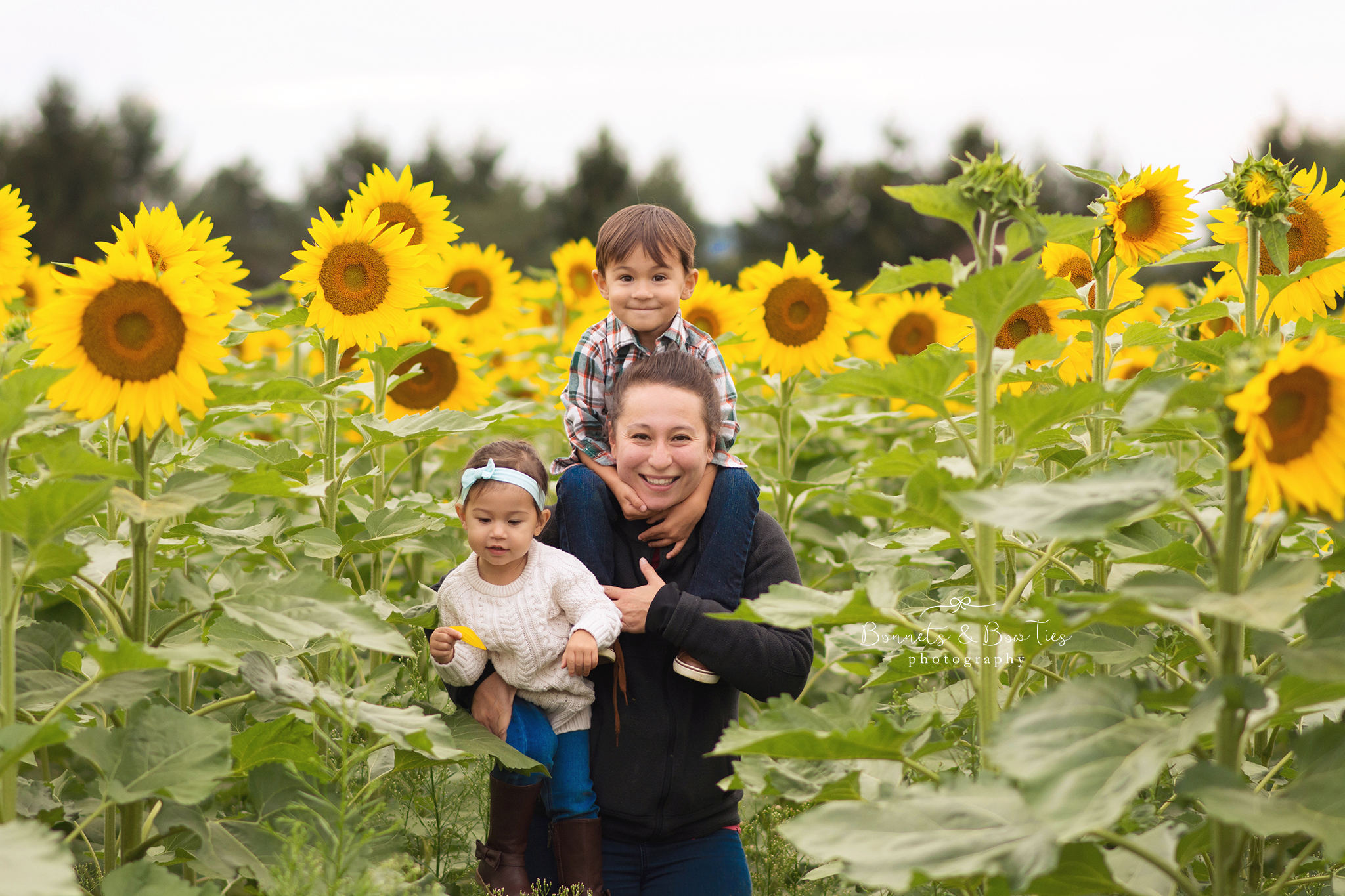 mom and kids in sunflowers.jpg