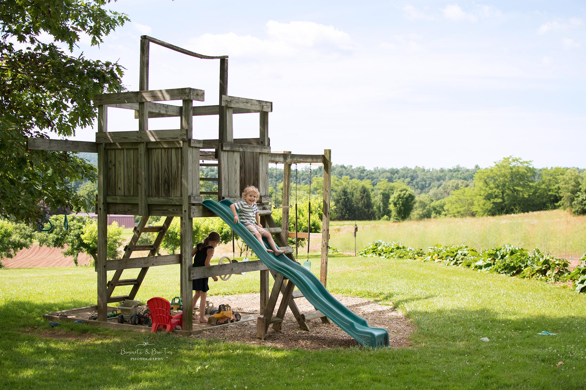 playground at barefoot farm
