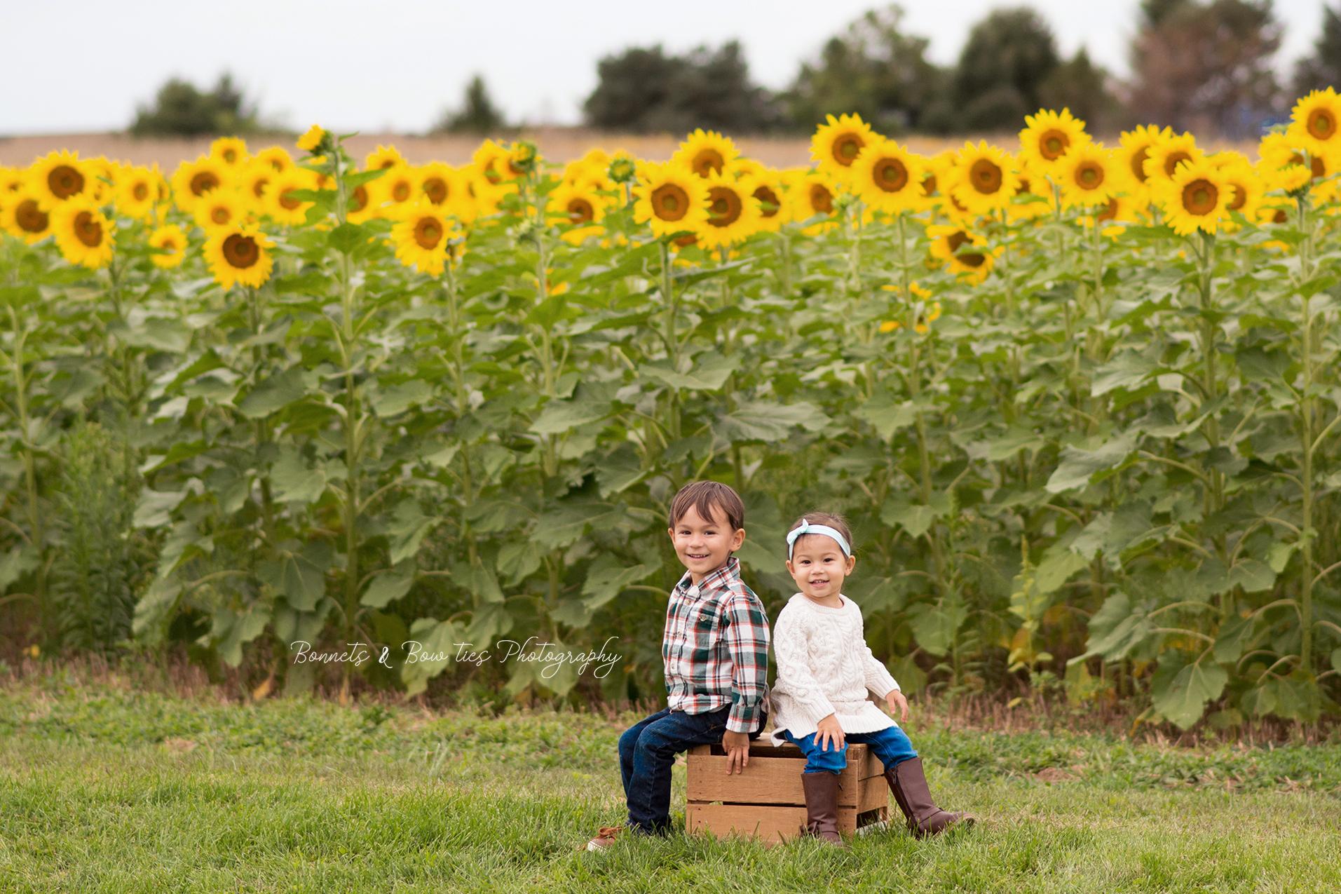 boy and girl in a sunflower field.jpg