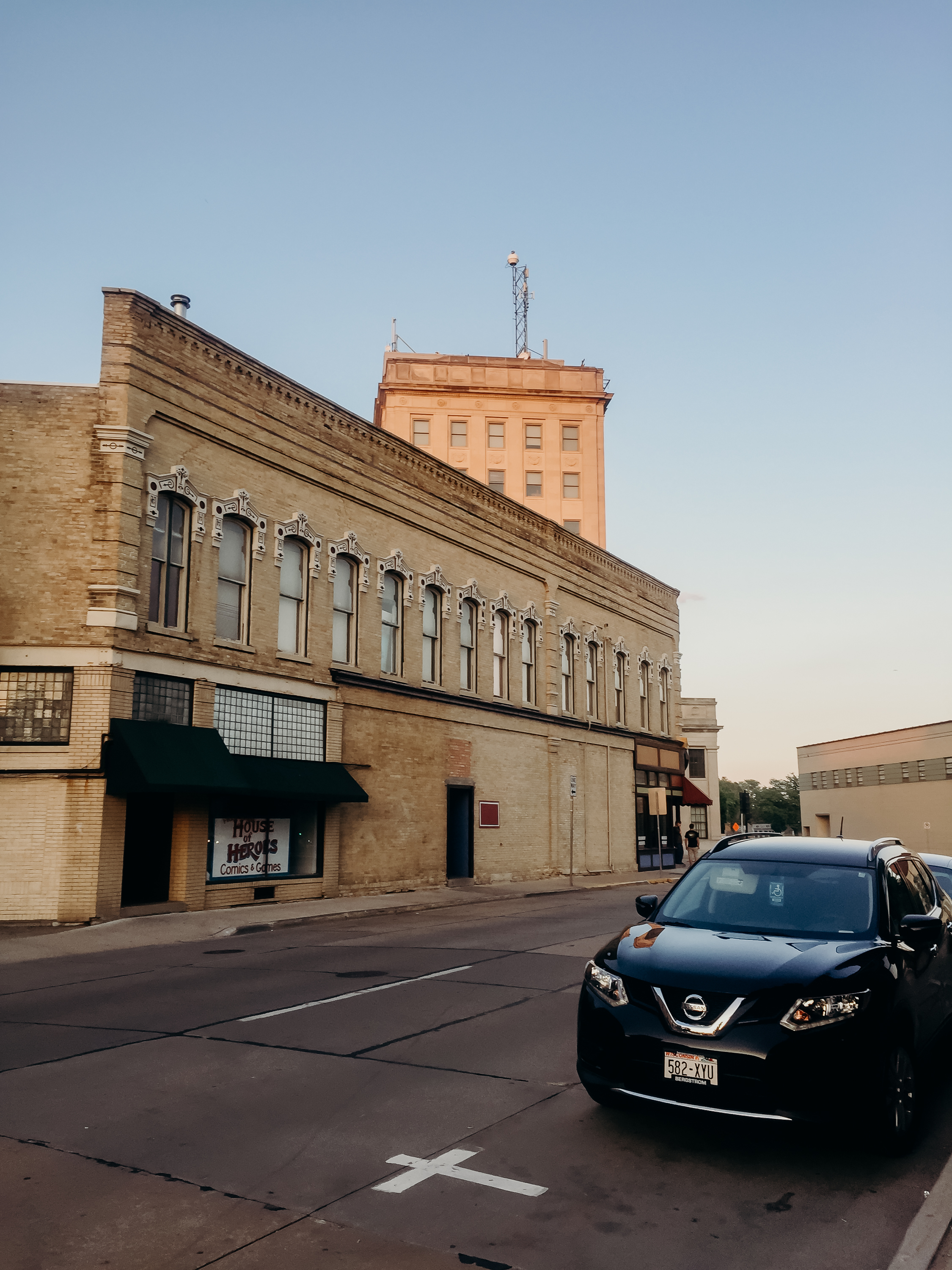 Downtown Oshkosh.