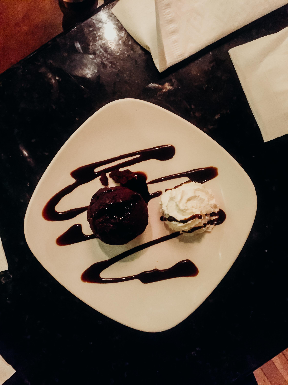 And dessert.