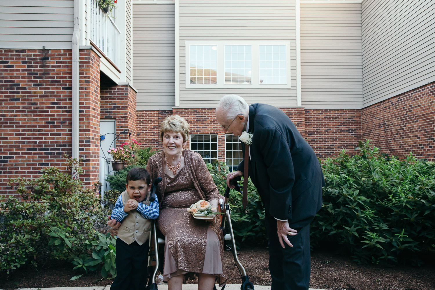 Carolyn & Jim with their great-grandson, Alex