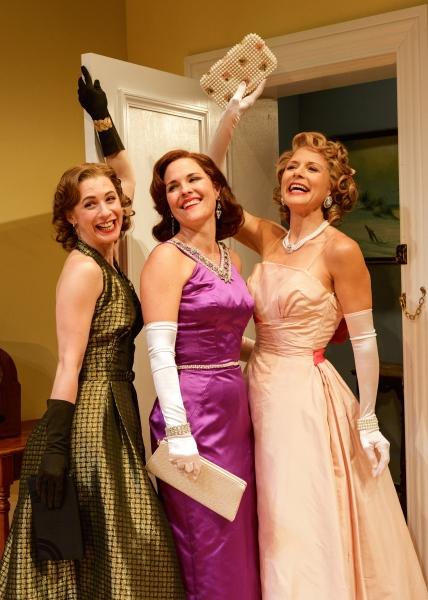 Julia Coffey, Kelly McAndrew and Jennifer Van Dyck