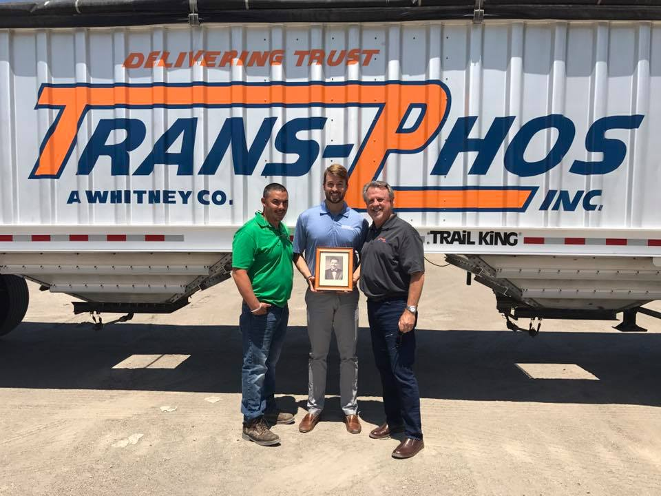 Pictured here: Three generations of Whitney Family leadership (from left to right: Neil Whitney, Chris Whitney, Rick Whitney, framed photo: Sam Whitney, & not pictured: Bill Whitney)