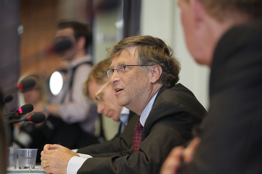 Stephen J. McConnell - Thoughts on Writing Blog - Bill Gates, Speaking