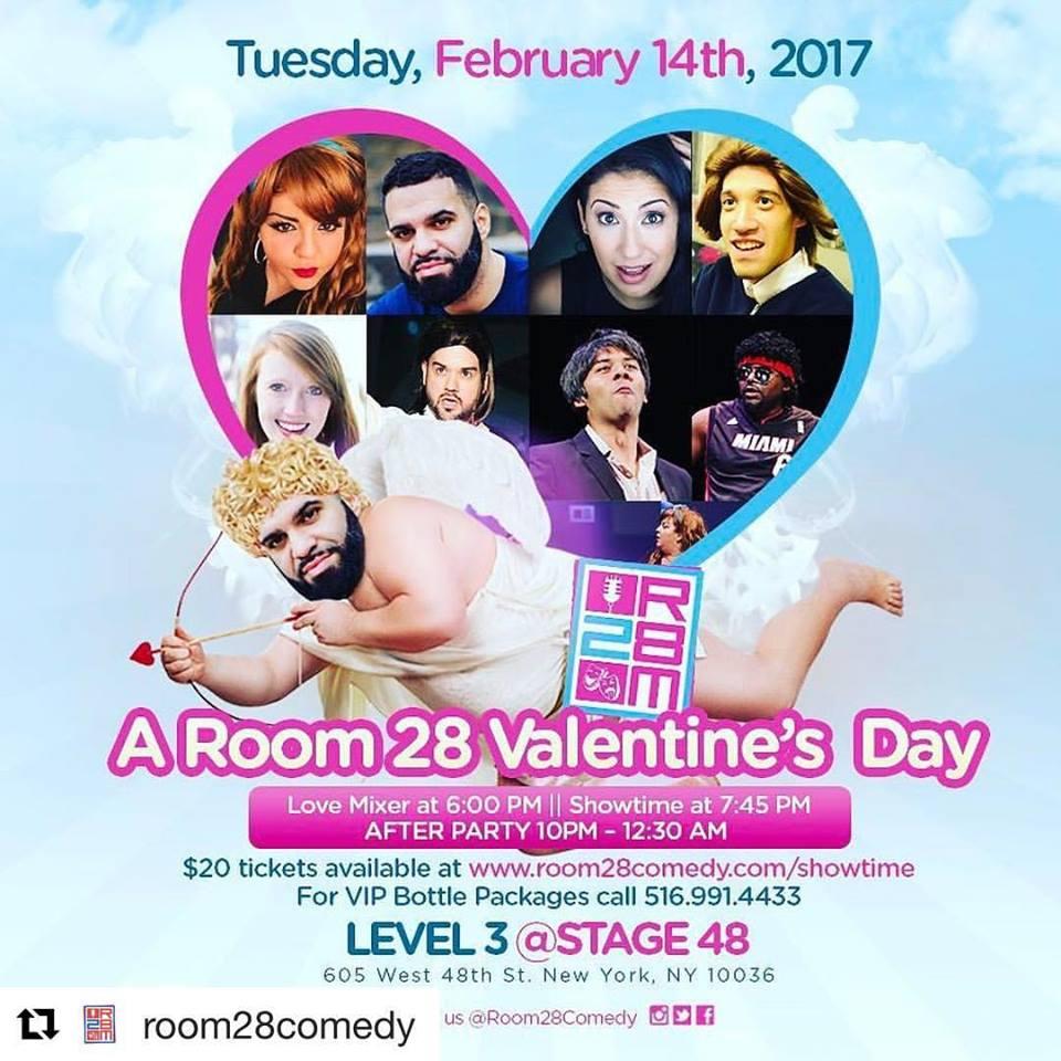 Room 28 Comedy's Valentine's Show!