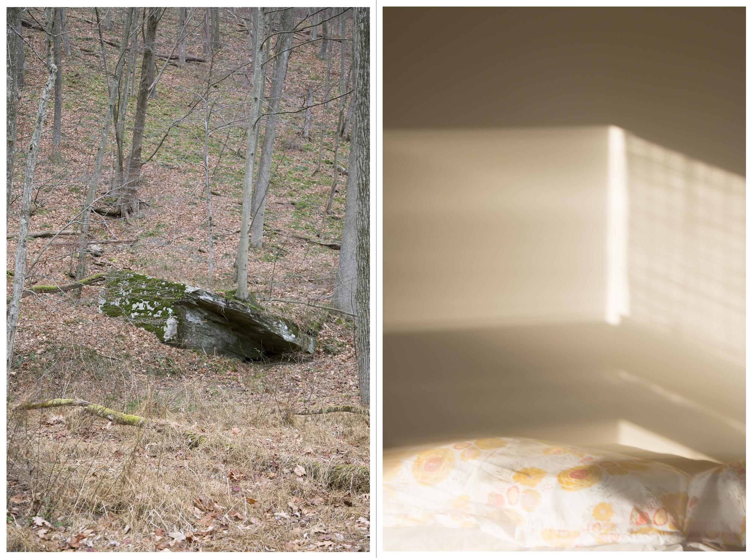 "to return: Rock Fort, Inkjet Photograph, 48"" X 36,"" 2015."