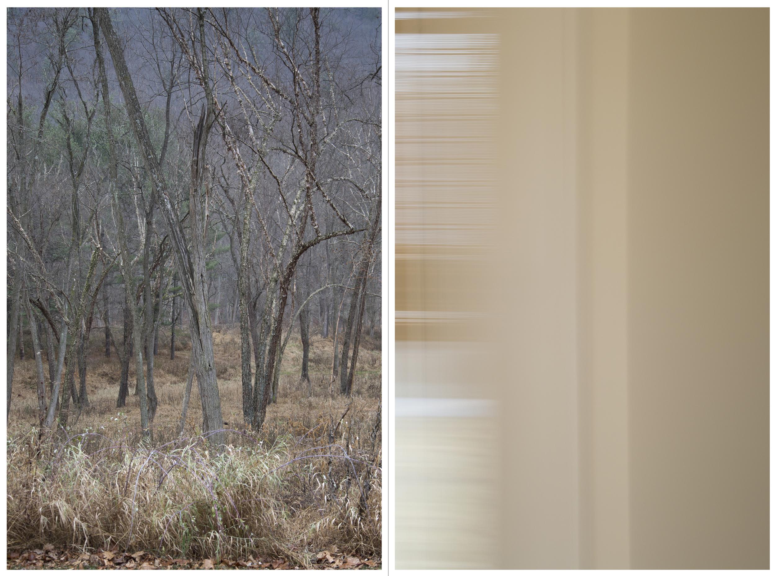 "to return: Rail Road Track, Inkjet Photograph, 48"" X 36,"" 2015."