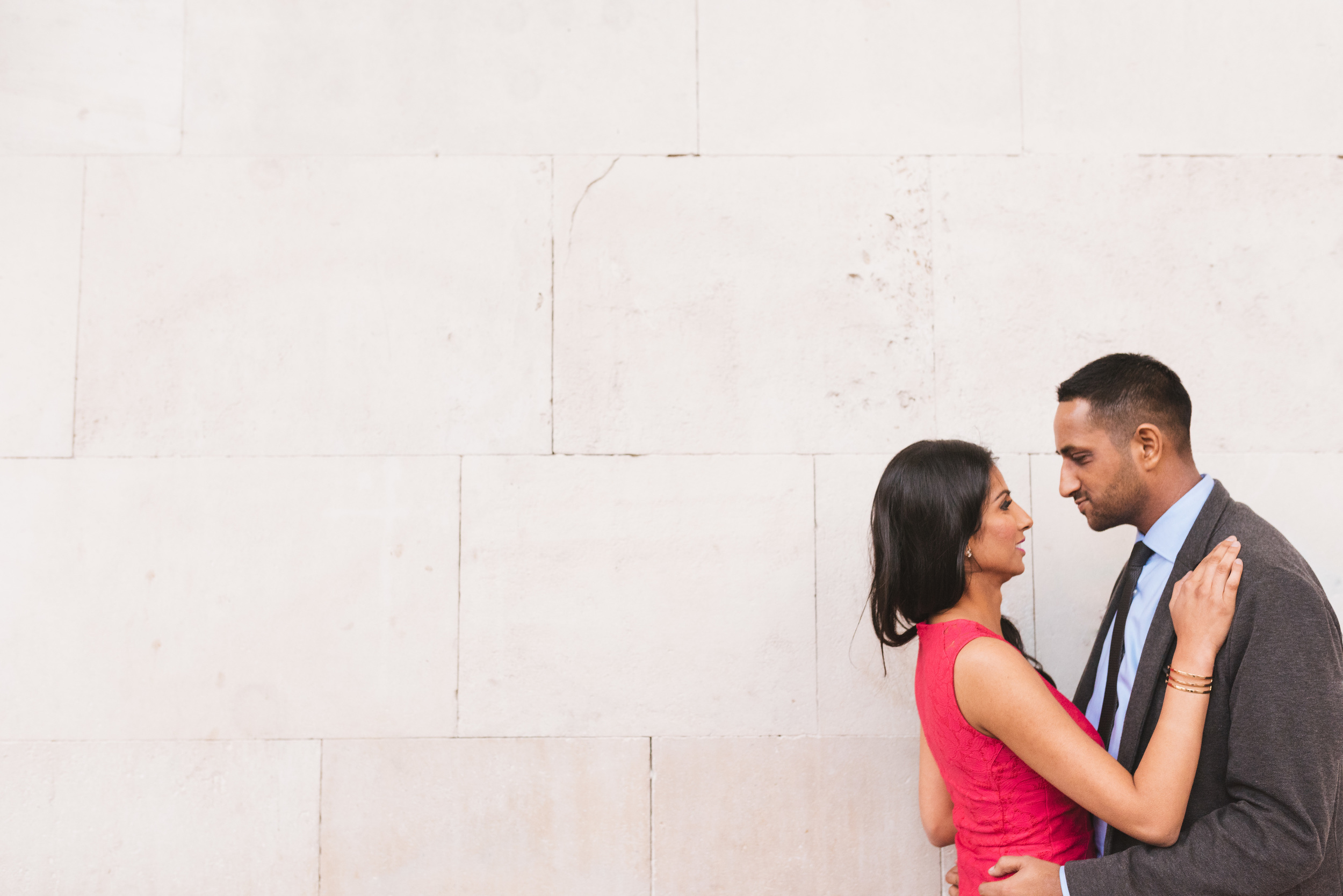 Amo and Nick's London engagement shoot