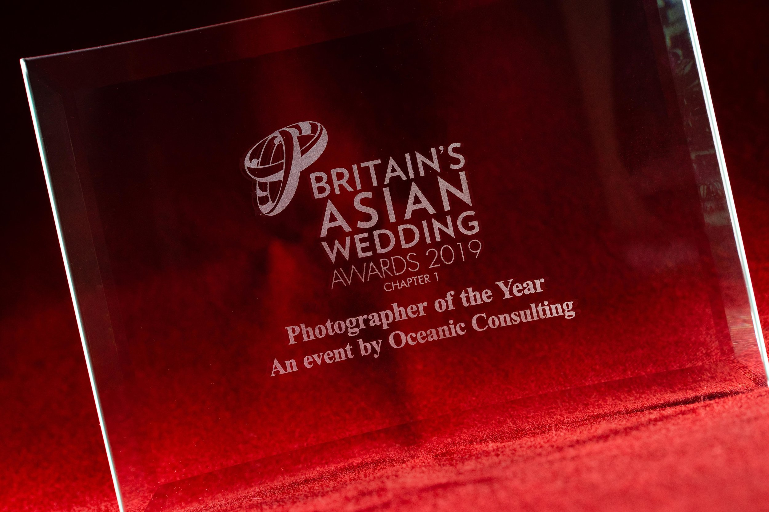 Photos by Abhi wins photographer of the year 2019 at Britains Asian Wedding Awards