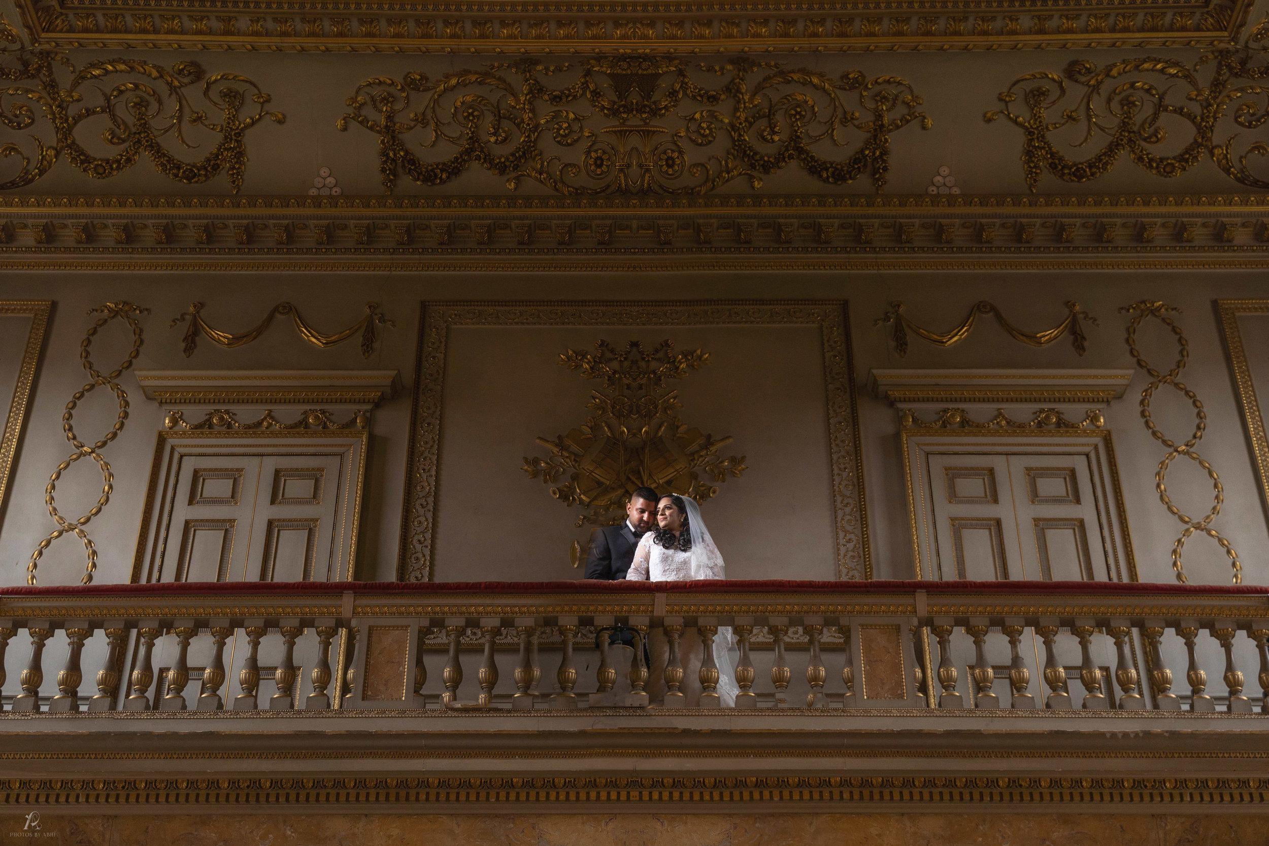 Our lovely couple from their Civil Wedding at Cobham Hall in Gravesend