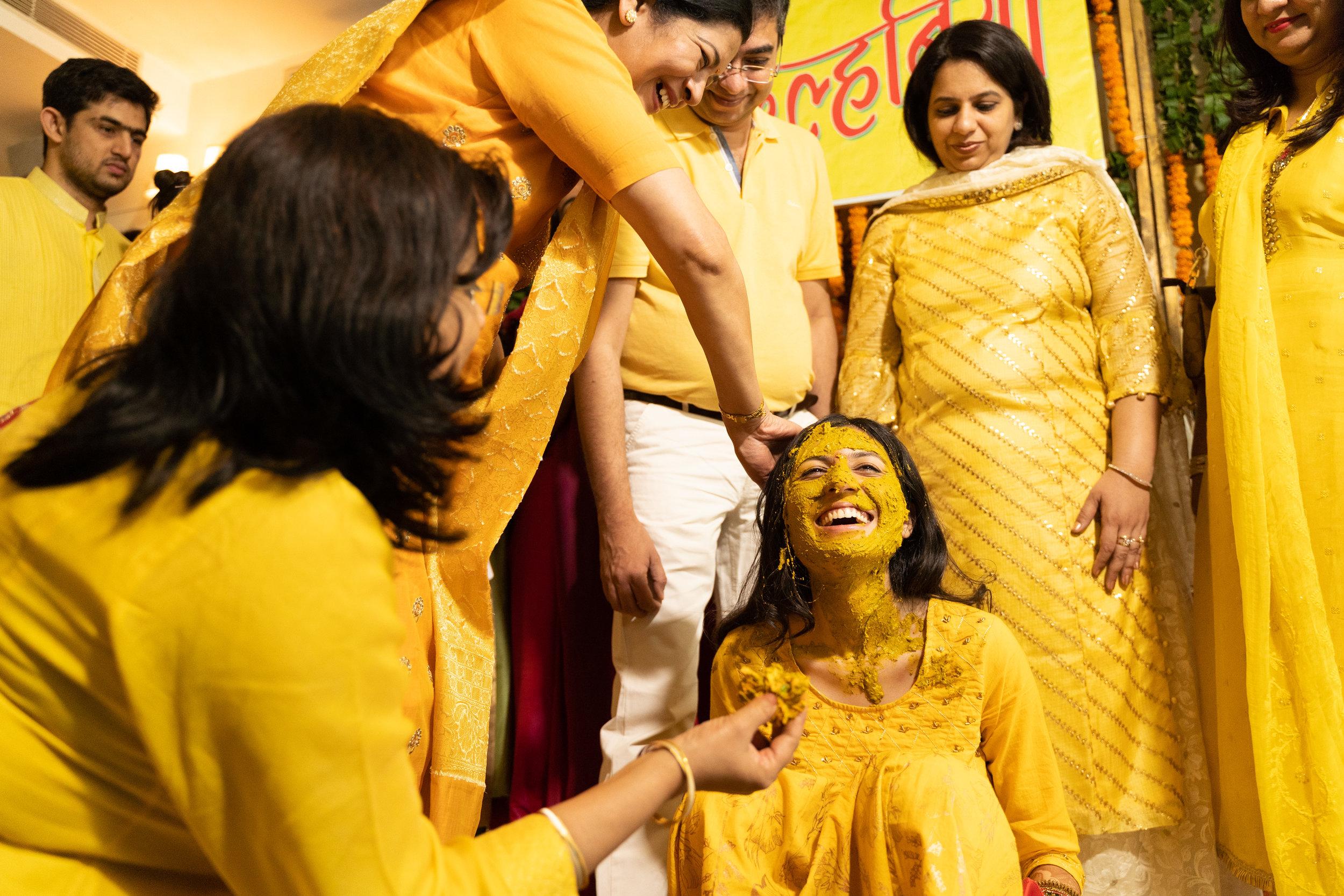 Apeksha's crazy Maiya ceremony in New Delhi