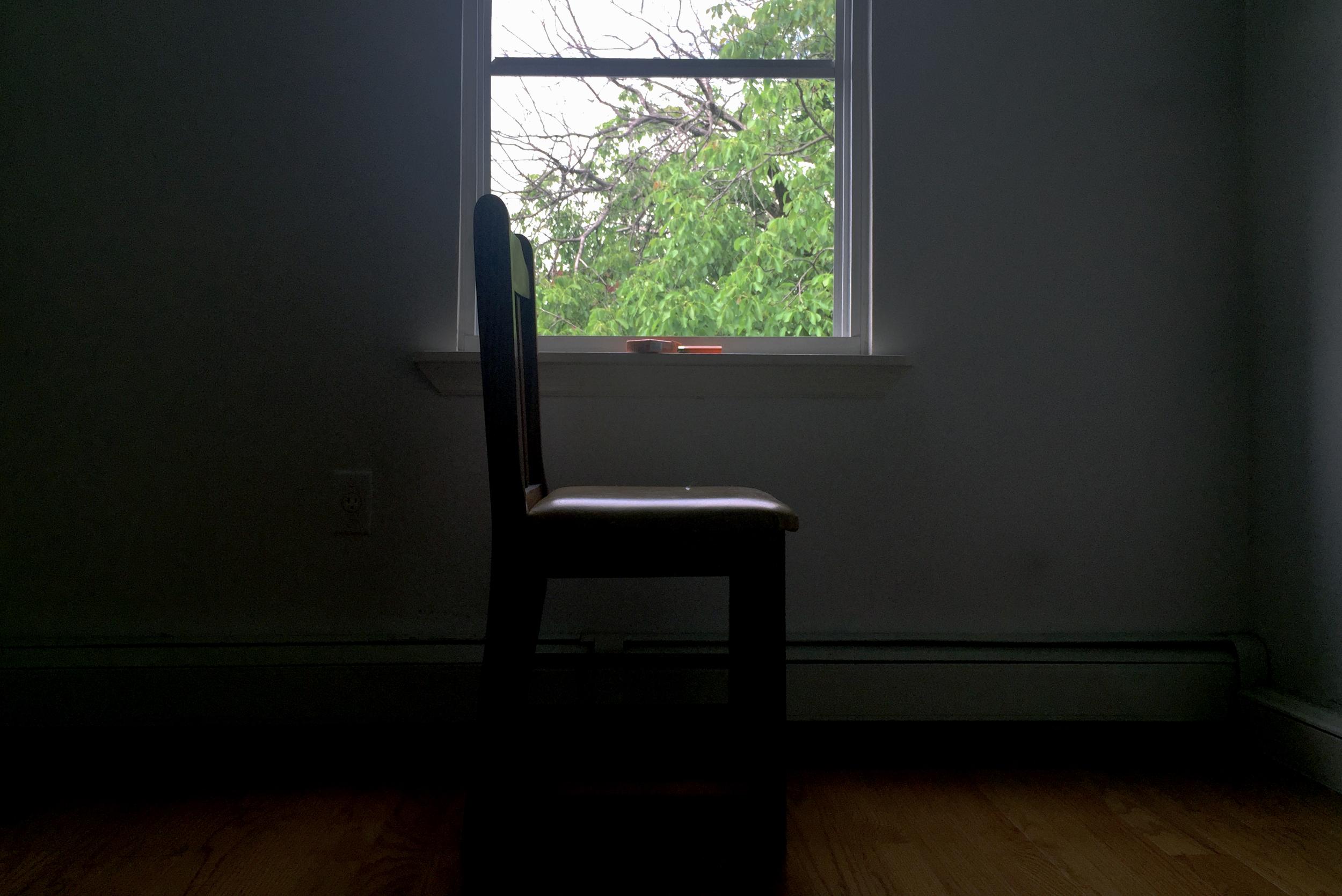 ニューヨークに来て以来お世話になっていたクイーンズのアパート、引越し直前。