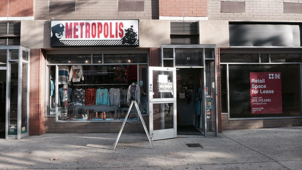 metropolis、Beacon's Closet, Buffalo Exchange, Rags A Go Go
