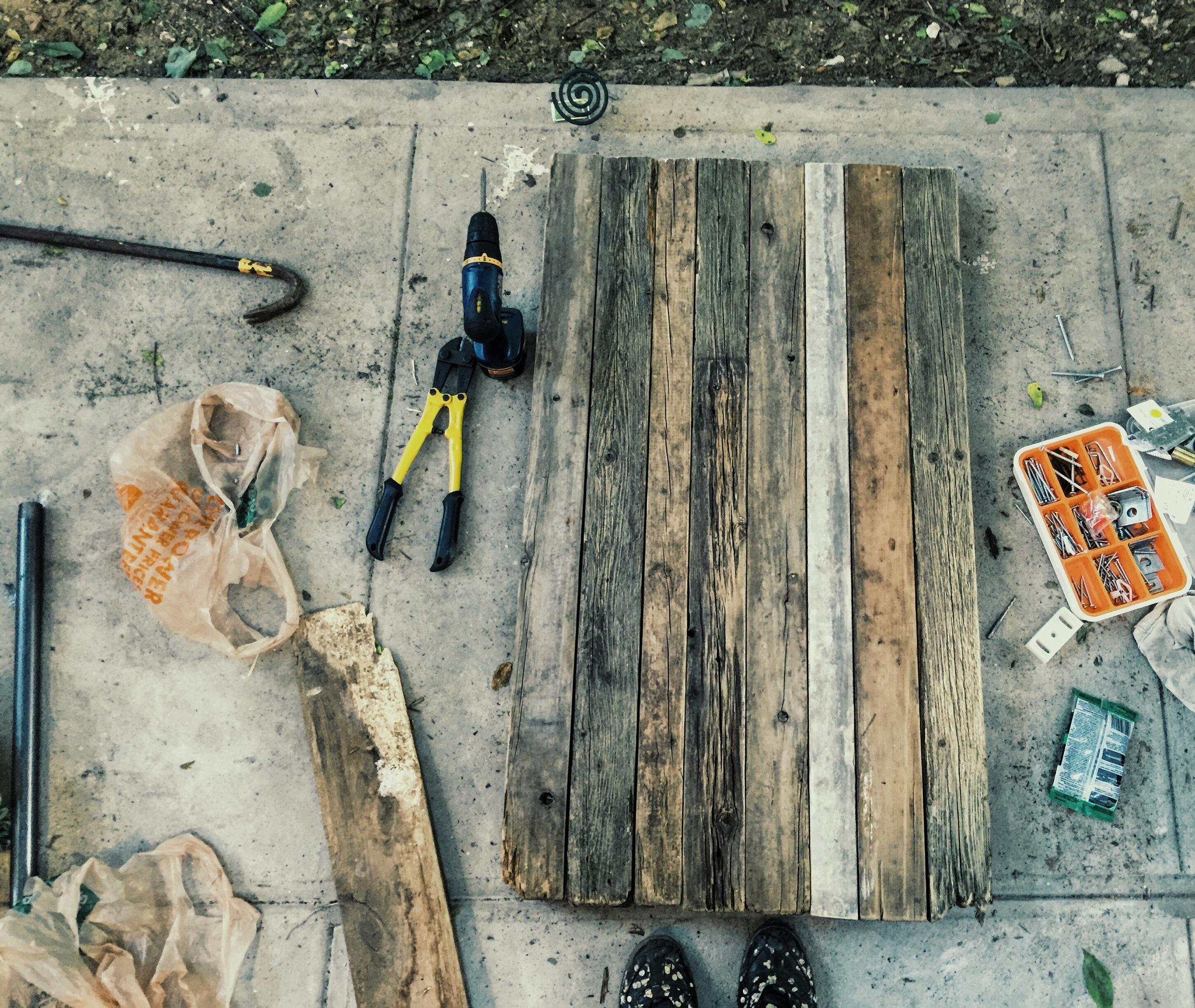ロン毛と坊主とニューヨーク DIY Home Depot
