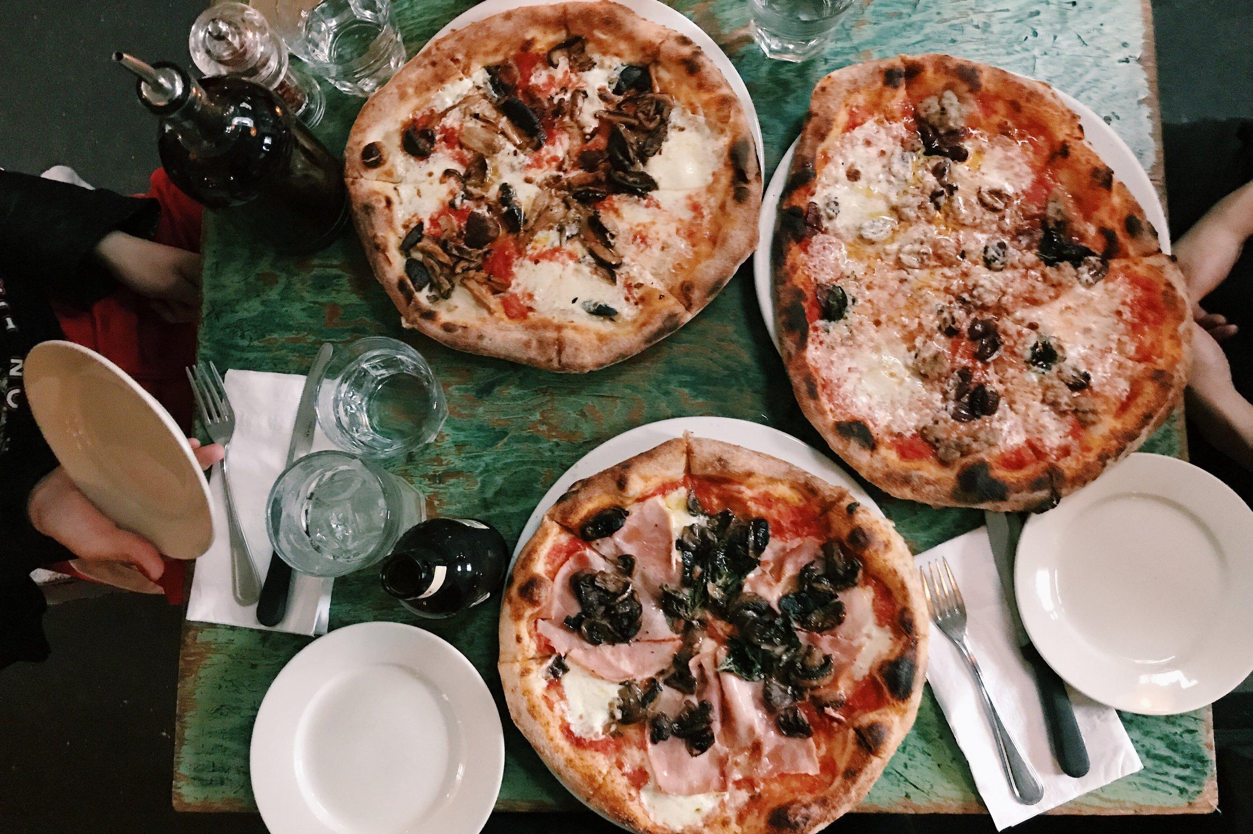 Saraghina サラジーナ Bedstuy ベッドスタイ Brooklyn ブルックリン ニューヨーク ピザ 美味しい おすすめ お洒落