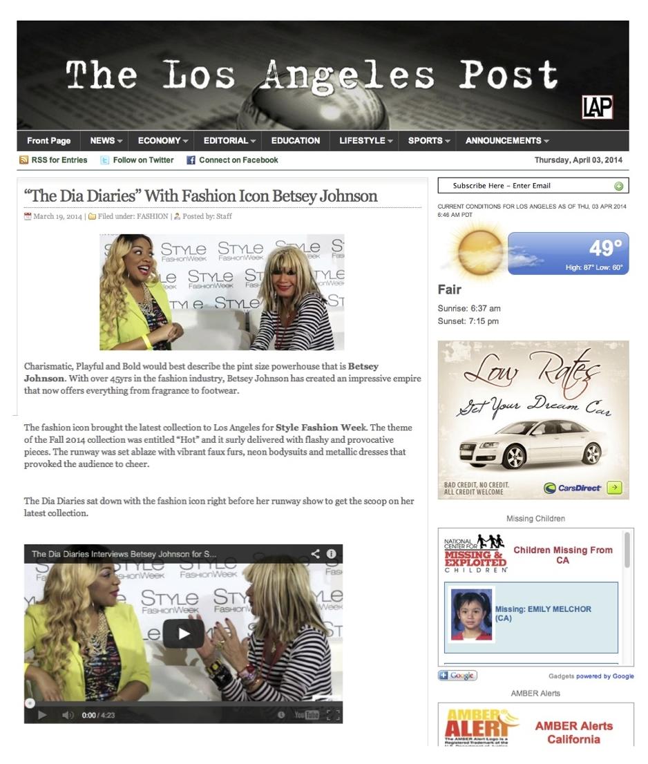 LOS ANGELES POST