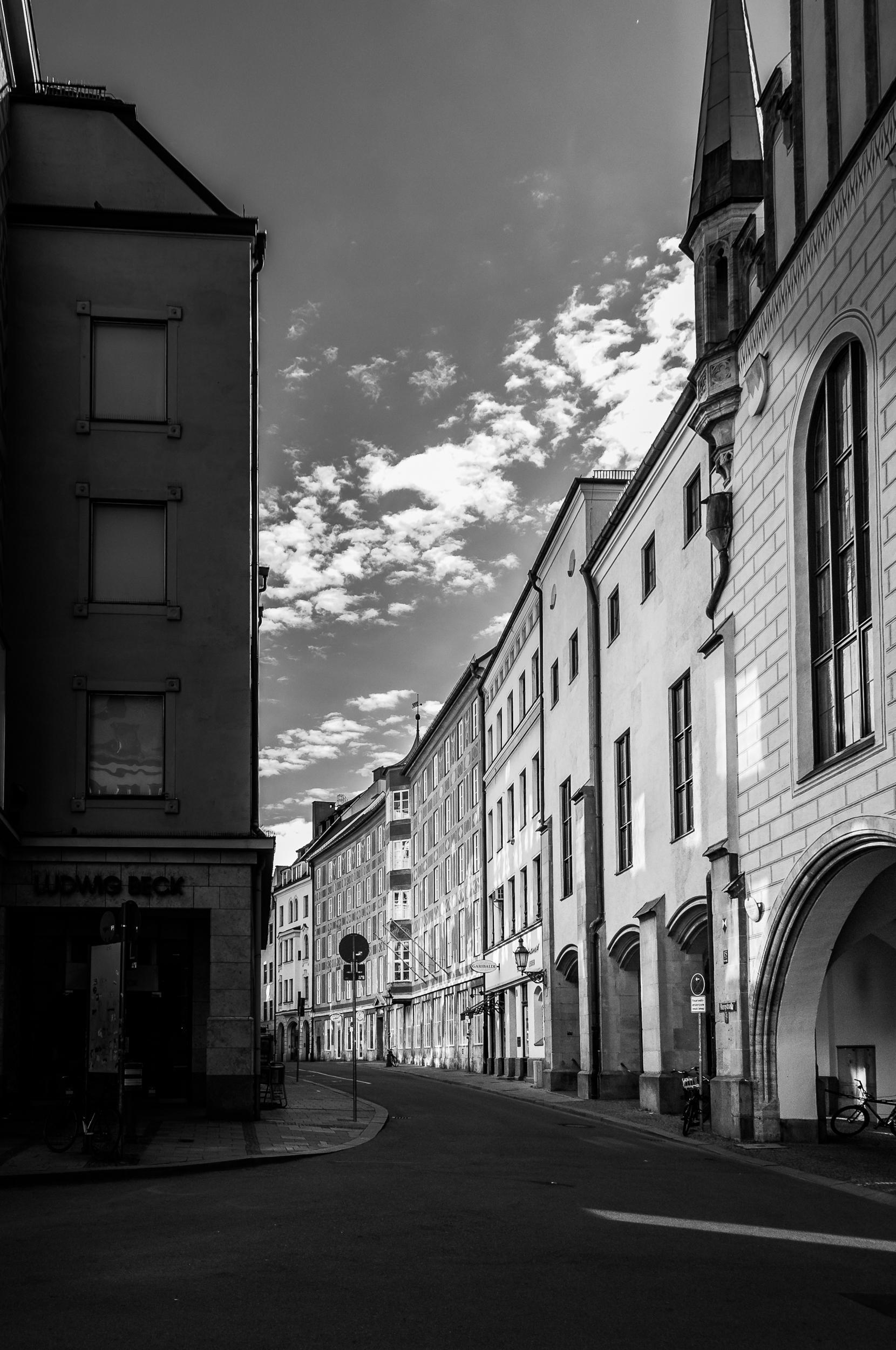 streets of munich, 2014.
