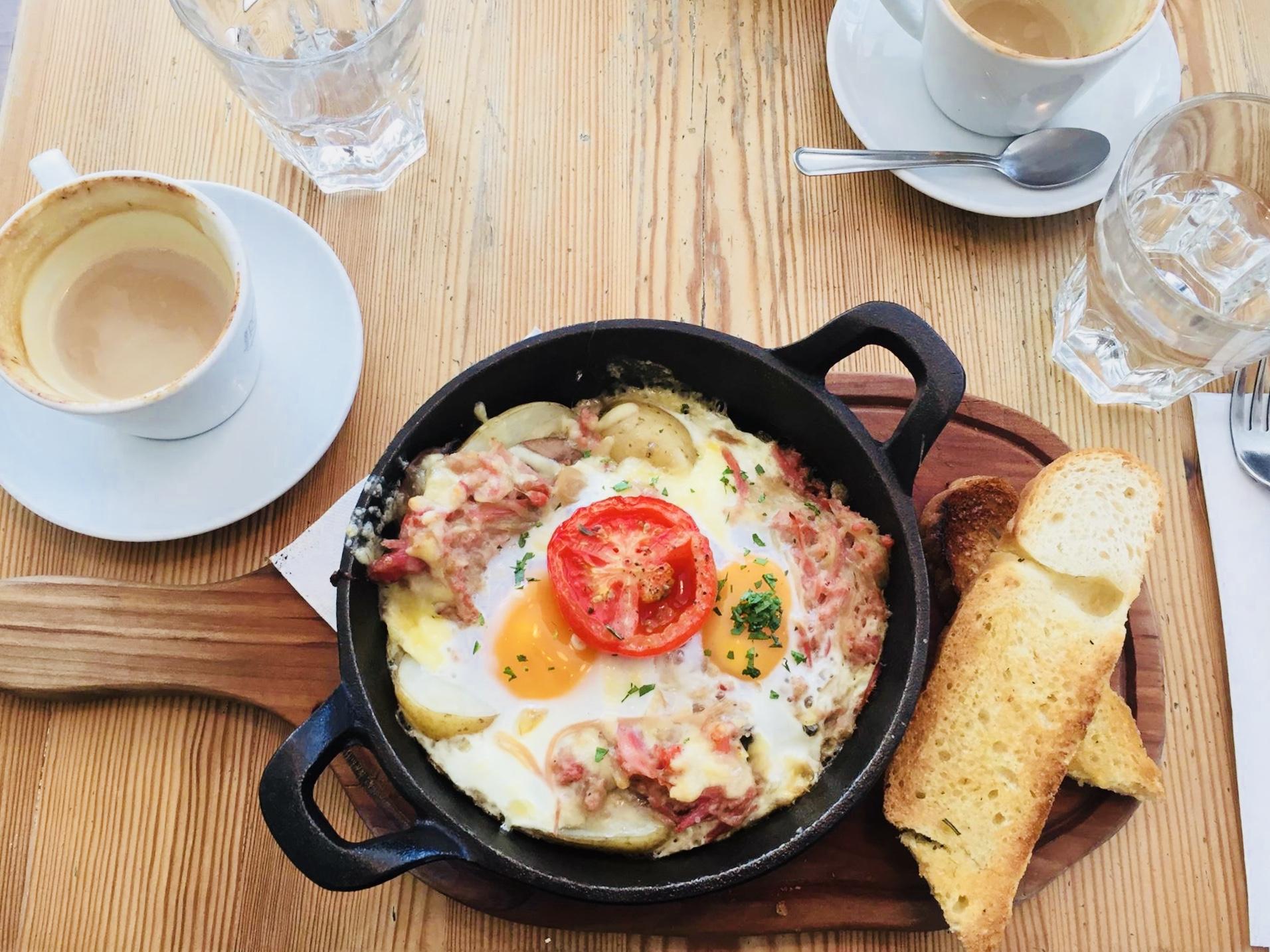 Brit-ish breakfast, but not quite