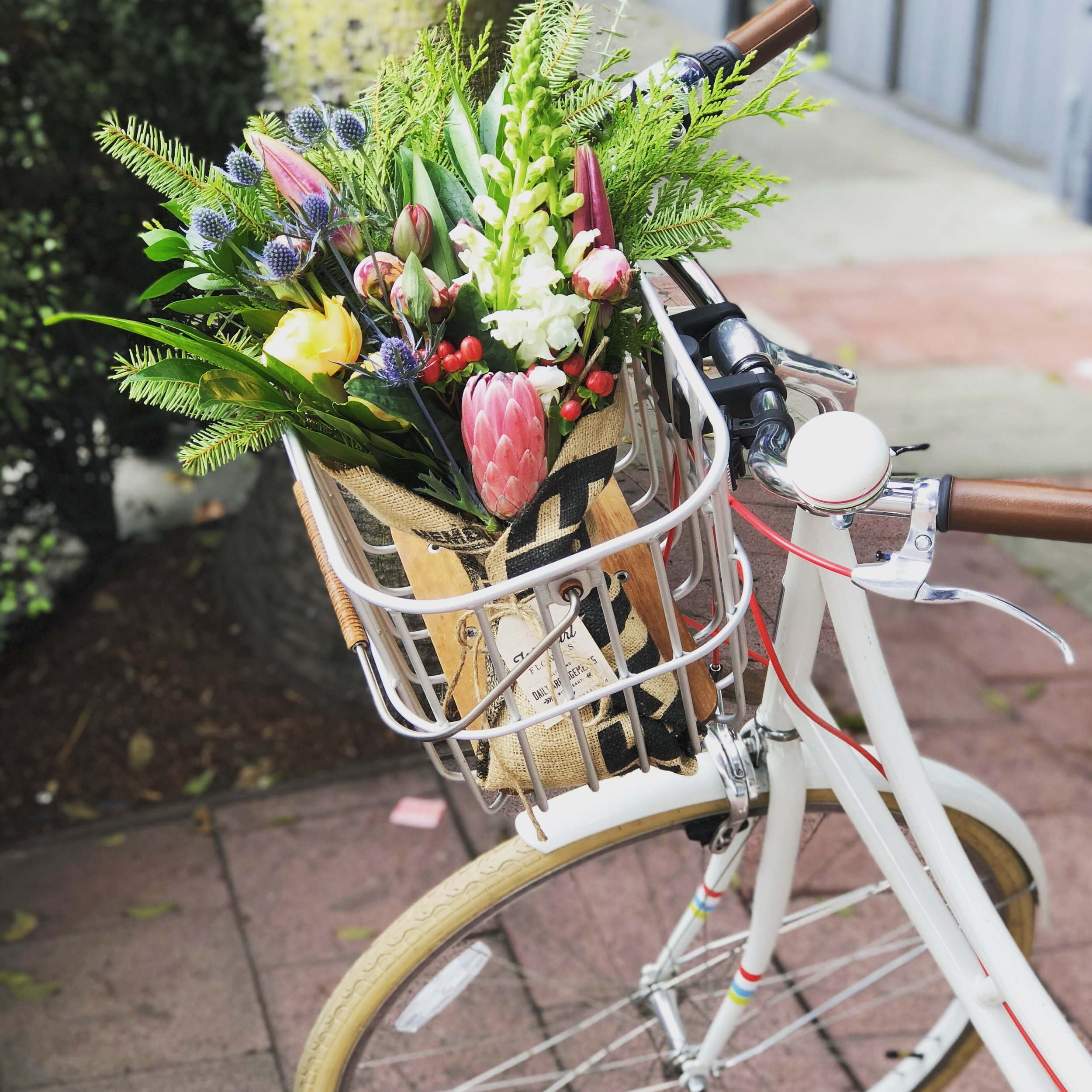 Bicycle basket | Brooks England