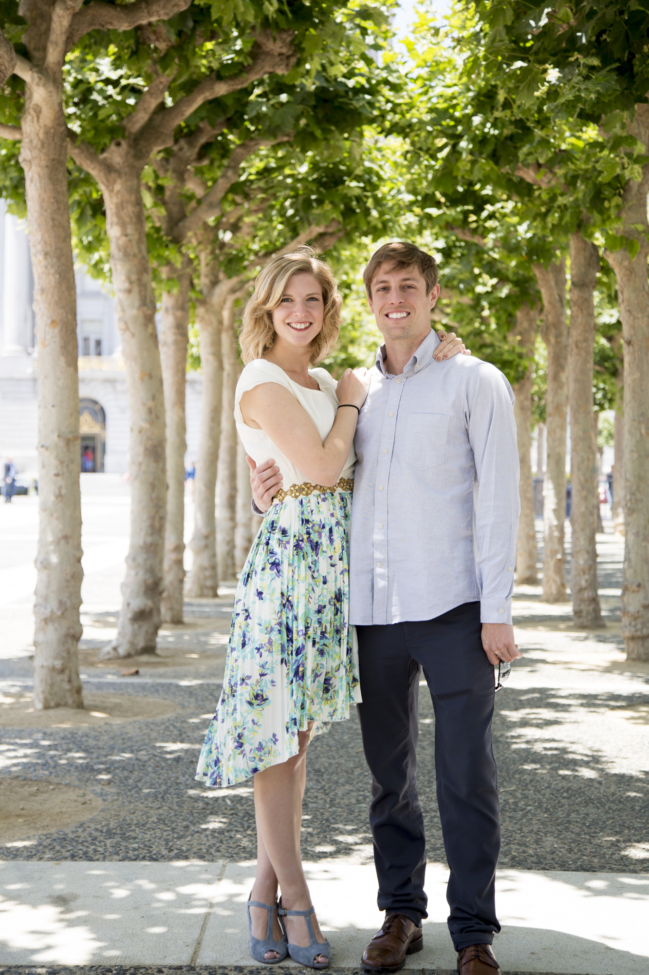 Ashley and Santi were married at City Hall in San Francisco