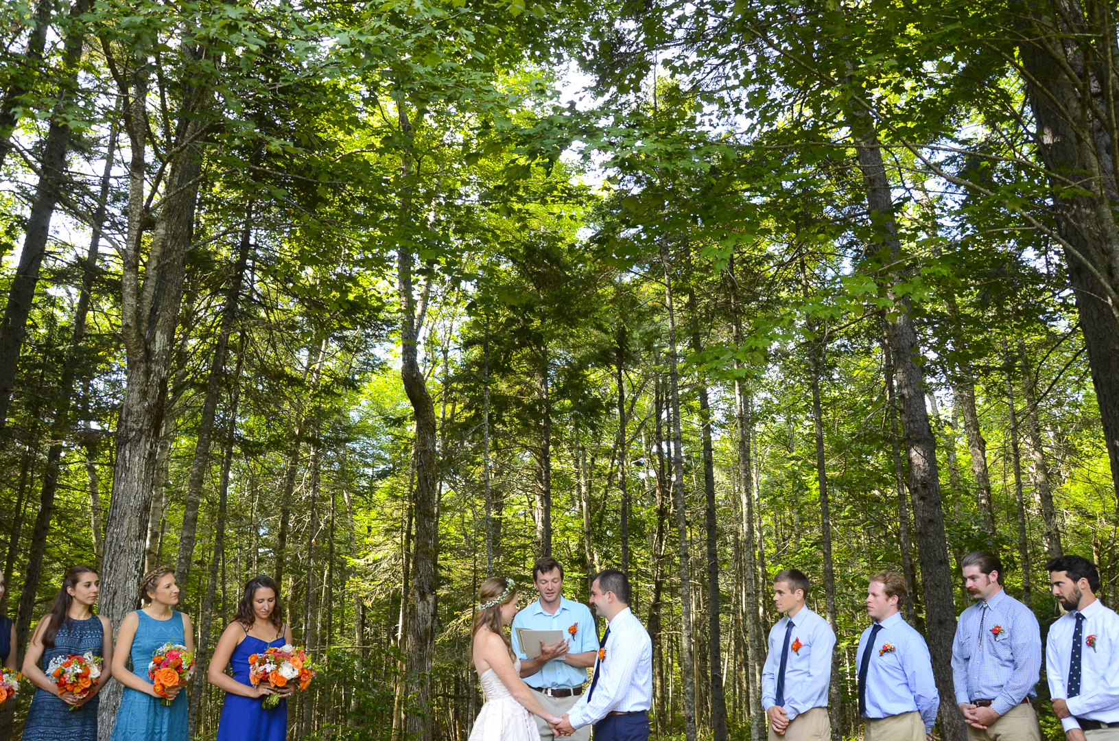 Jessie and Matt got married where they met as camp counselors