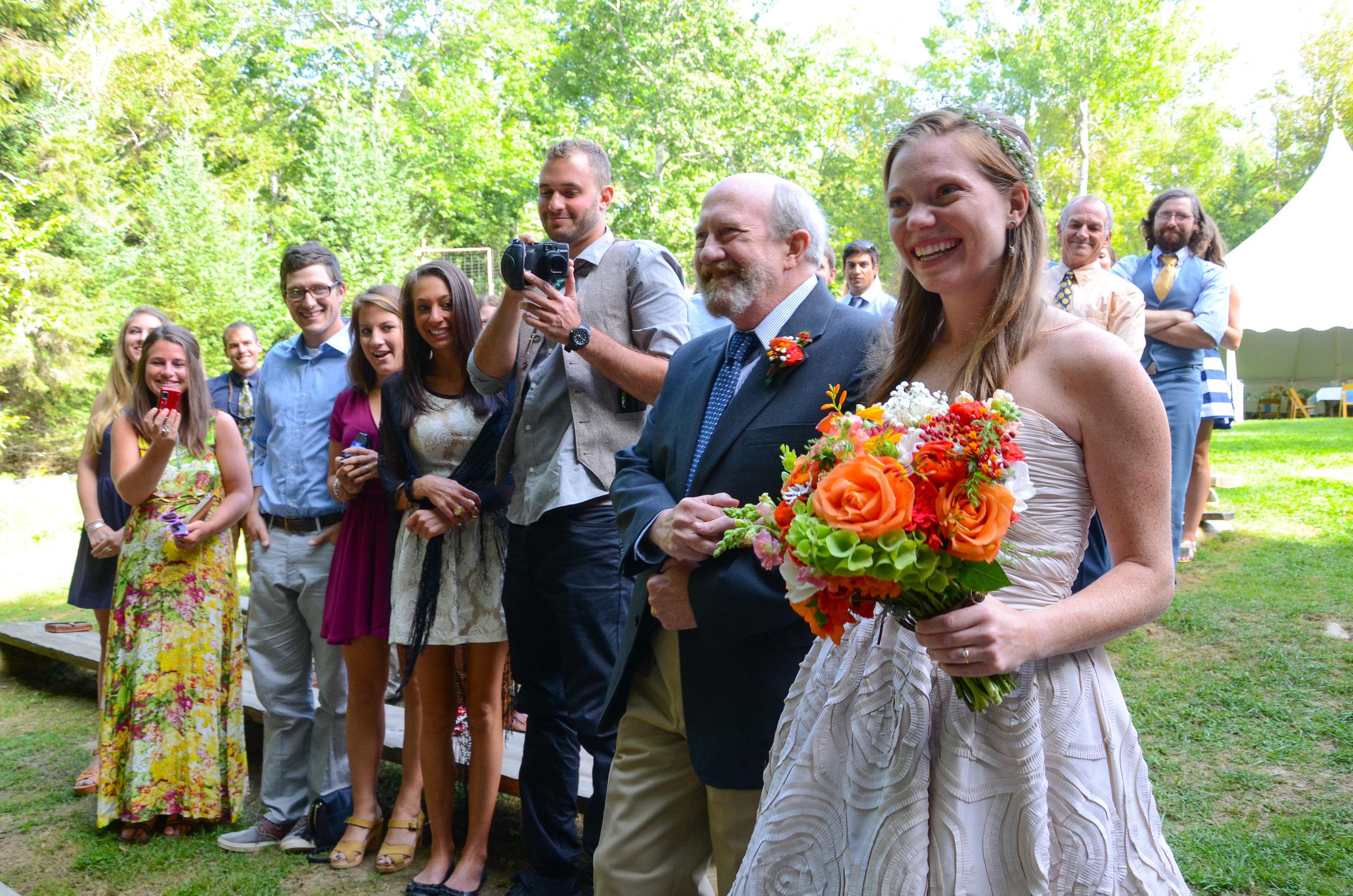 Jessie asked the florist to make an orange bouquet