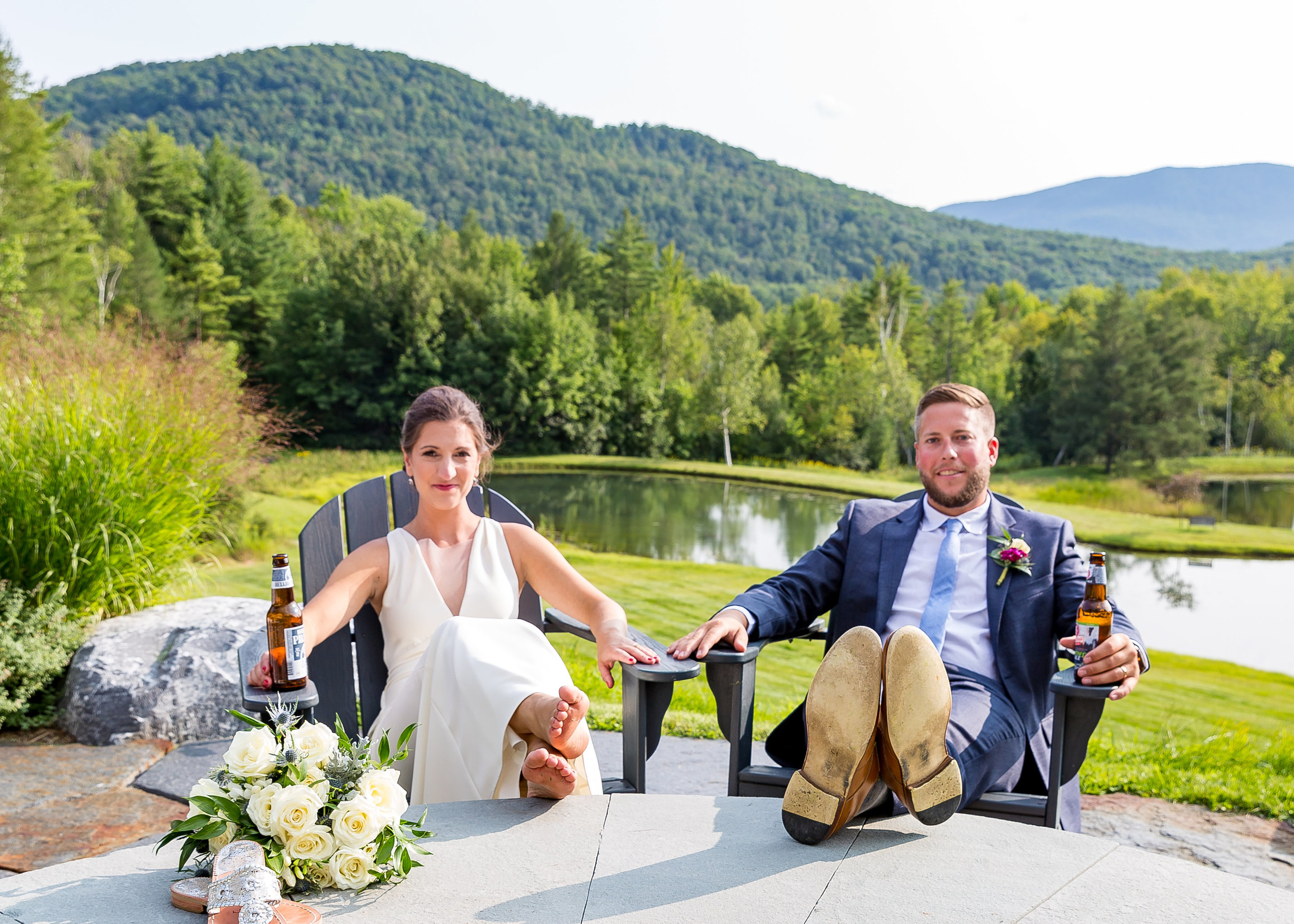 Sara and Sam loved exploring New England Bed and Breakfasts while they were dating
