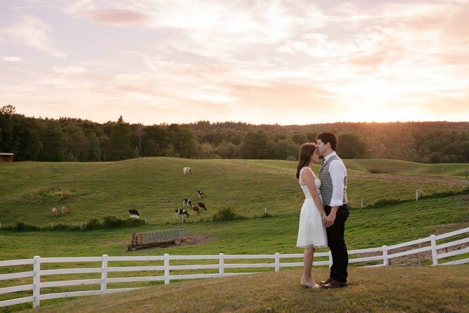 Hannah's parents eloped and she never imagined she would have a formal wedding