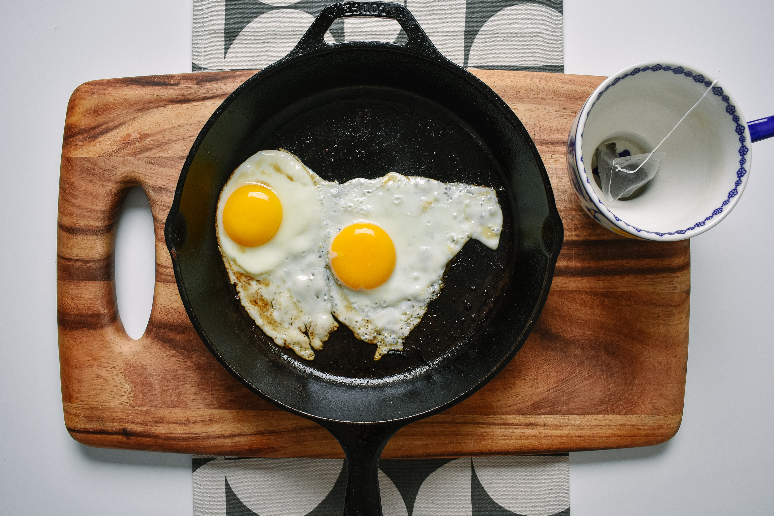 Plate that up and fry the eggs