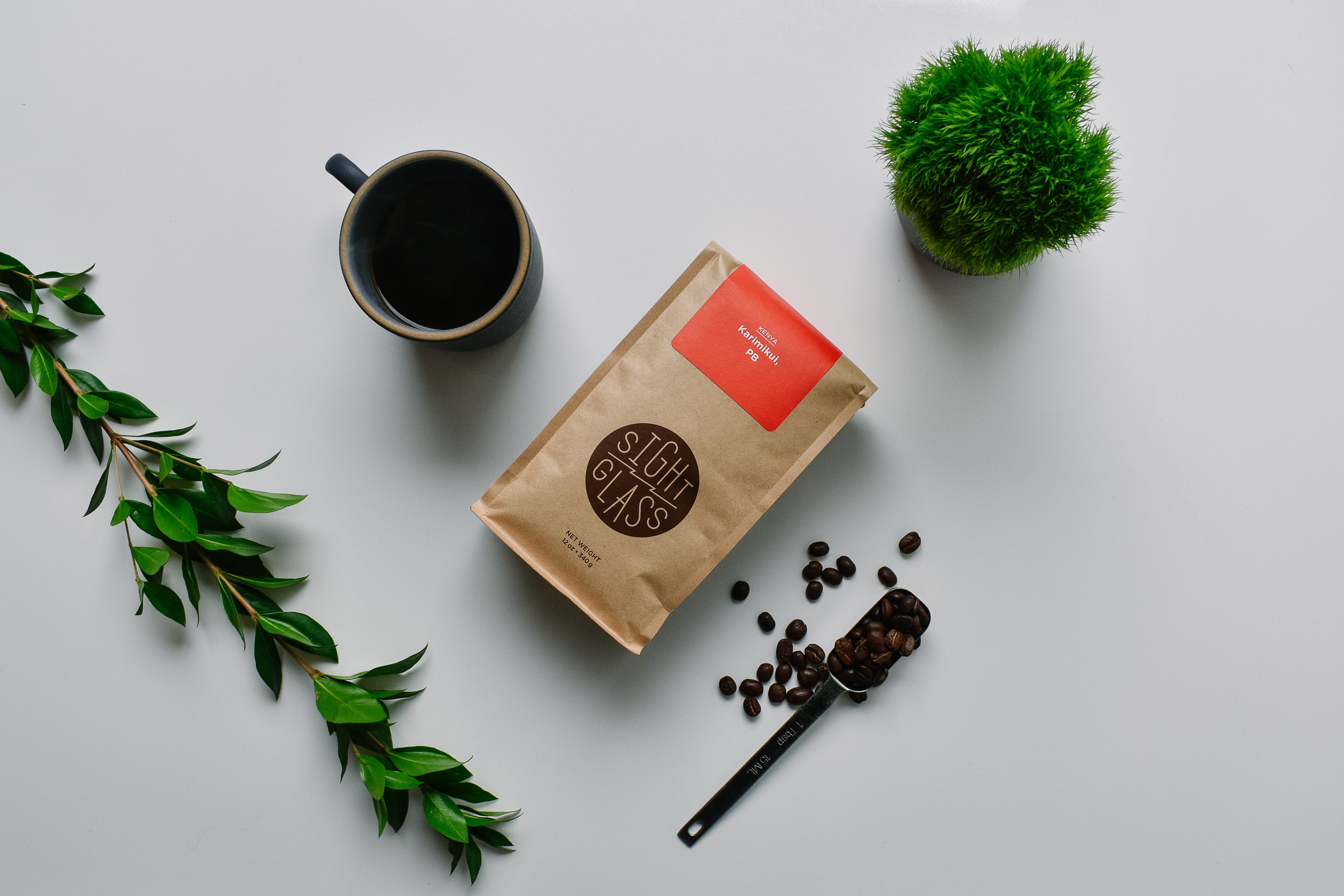 Sightglass Coffee - Sightglass is an independent coffee company in San Francisco. They source their beans directly from origin and roast them in a single vintage PROBAT roaster. The beans are roasted, packaged, shipped, and brewed in their headquarters.