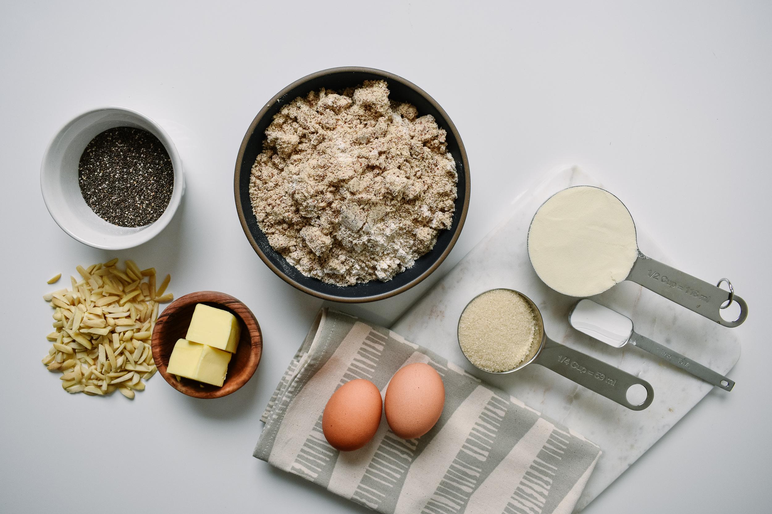 Gluten-free protein muffins
