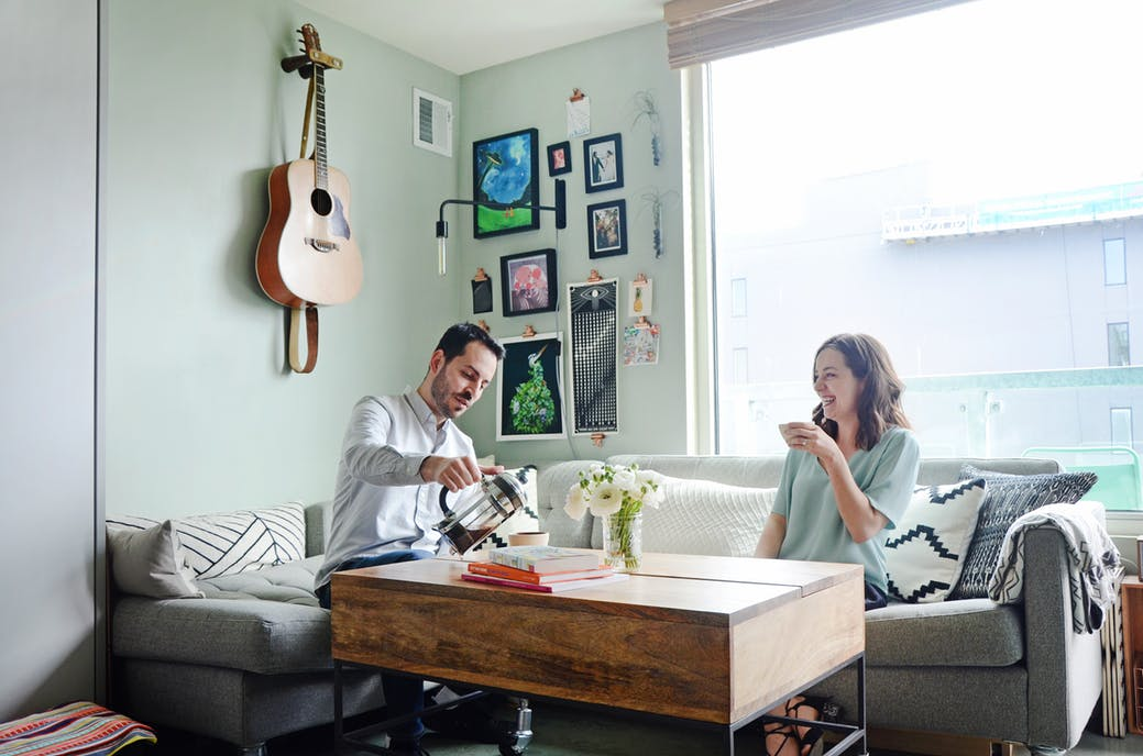 Apartment Therapy House Tour of Small Space, Big Taste