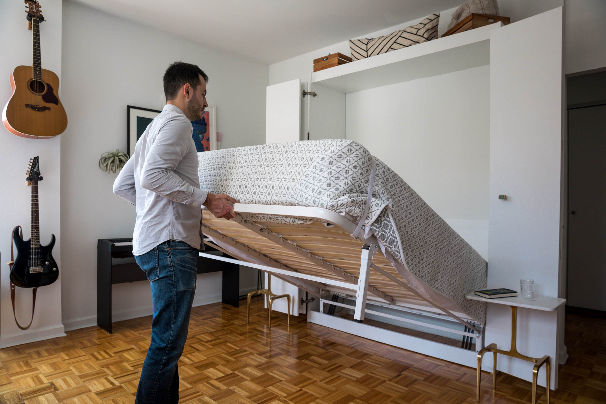 Our third wall bed in New York
