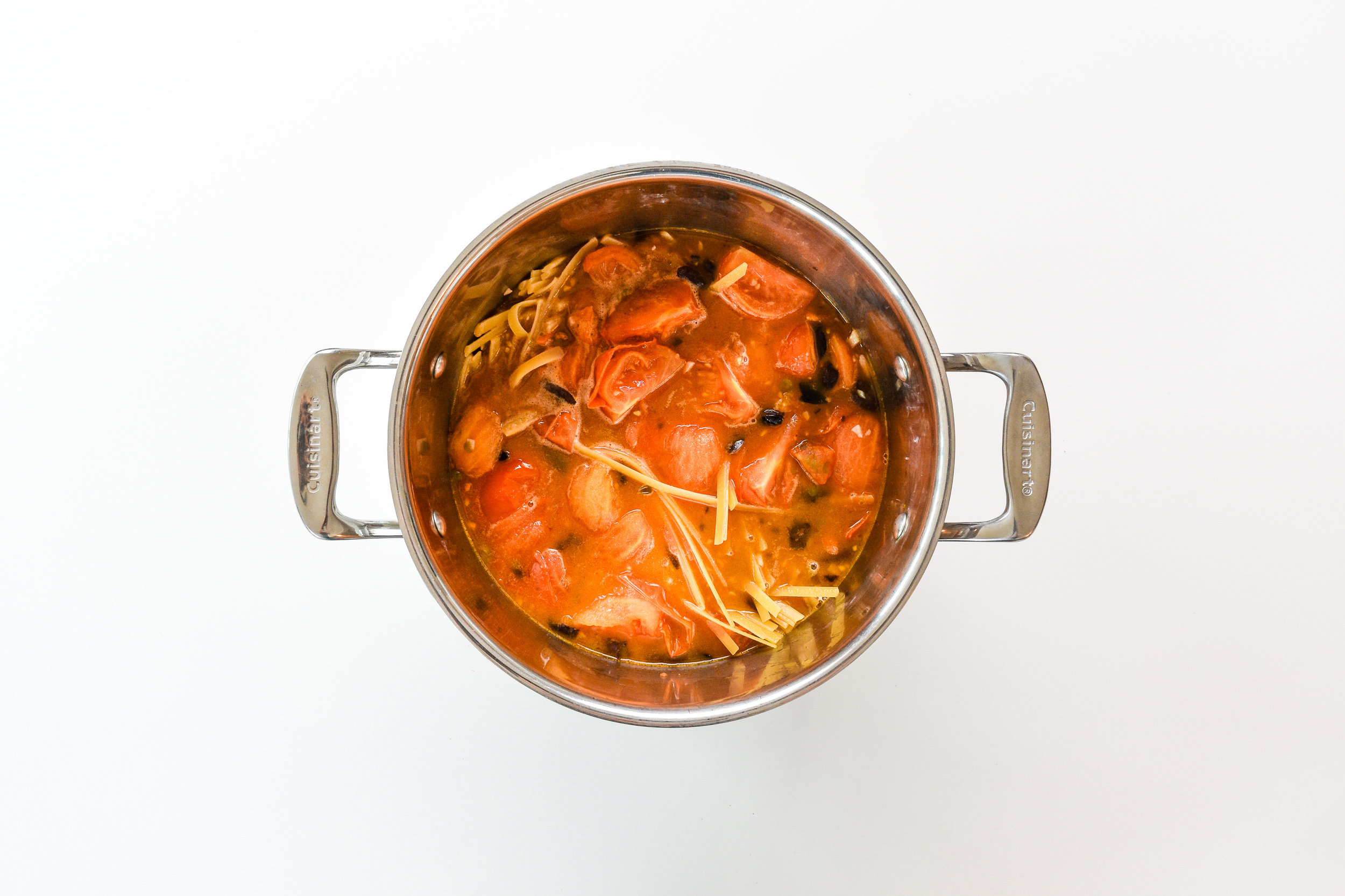 One-pot pasta puttanesca -  simmer uncovered.jpg
