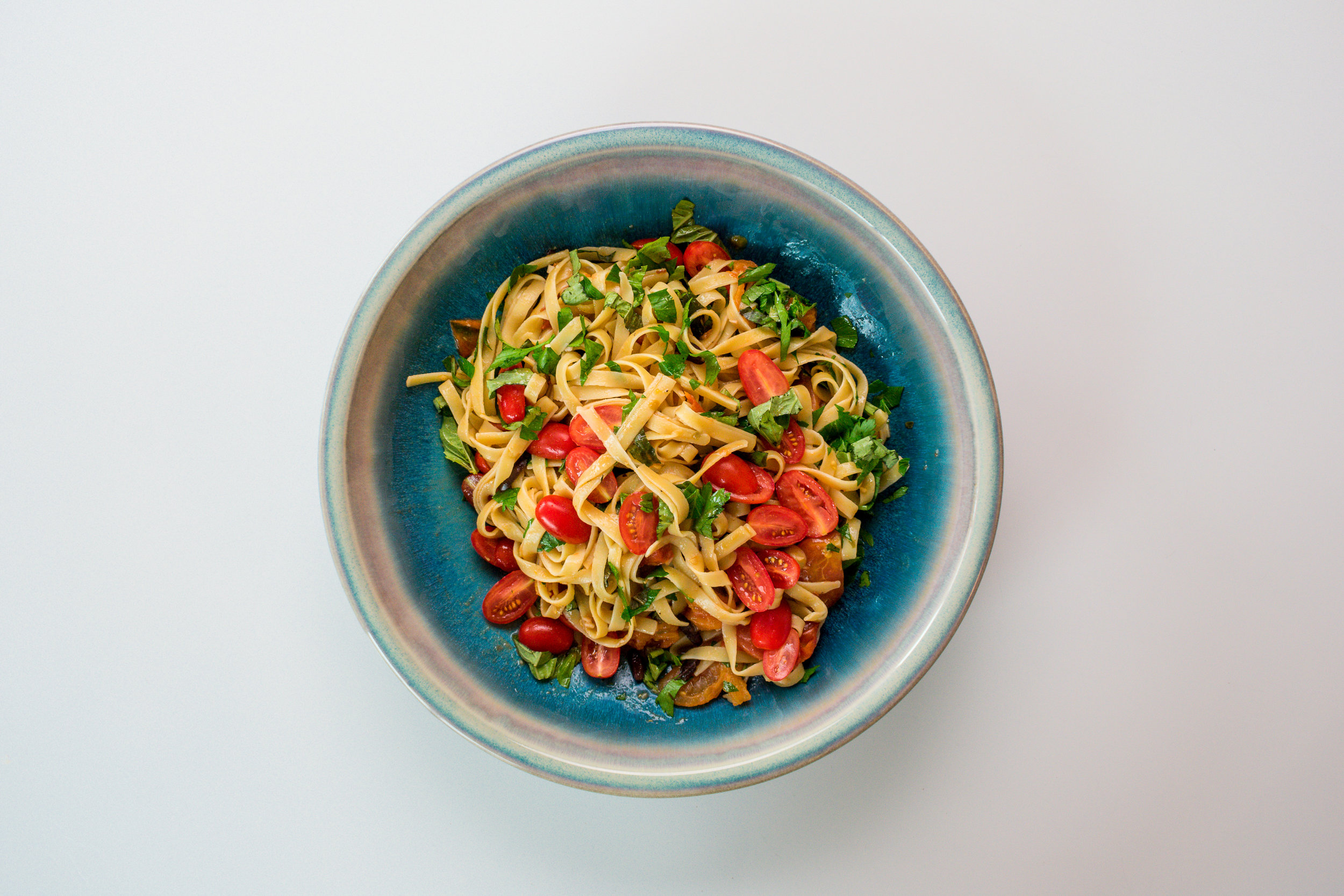 One-pot pasta puttanesca