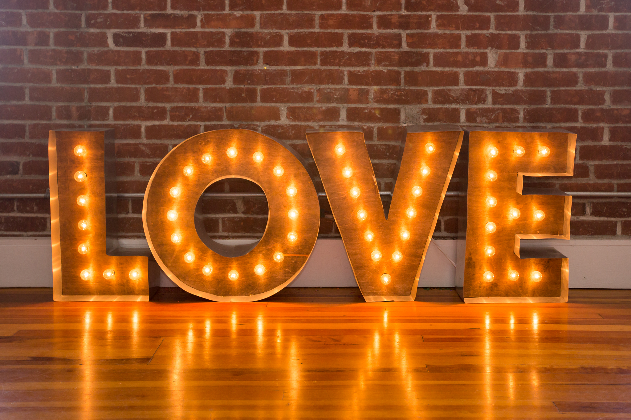 love marquee letters | shaina lee photography connecticut + destination wedding photographer | wedding decor wedding theme | romantic industrial wedding