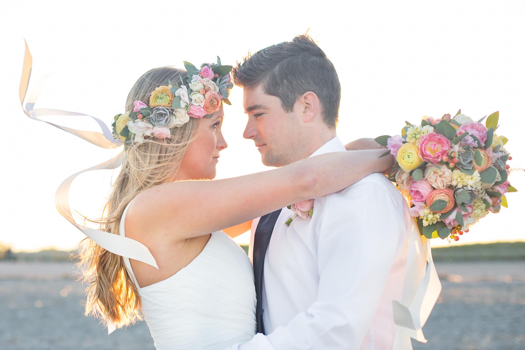 Sunset Beach Wedding Inspiration on Glamour & Grace | Shaina Lee Photography | CT, NYC + Destination Wedding + Engagement Photographer