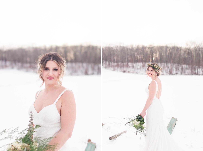 Winter Bride Wedding Inspiration Branford Connecticut Wedding Venue CT NY Luxury Wedding Engagement Photographer Shaina Lee Photography