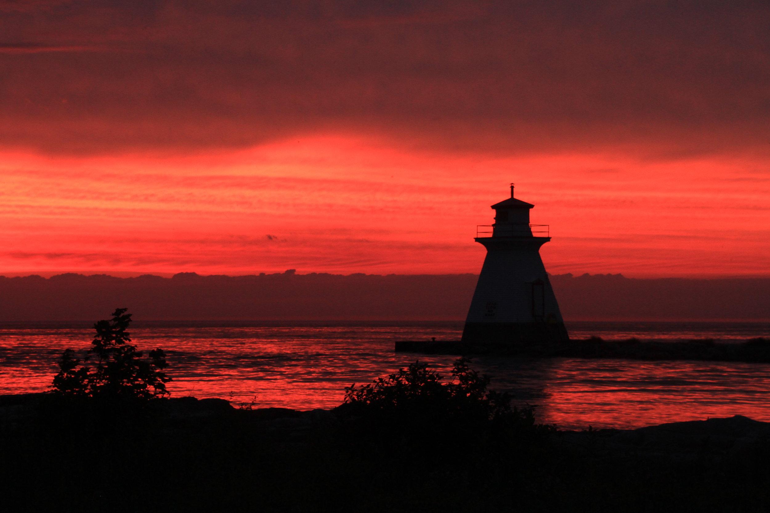 Sunset at Southampton, Ontario