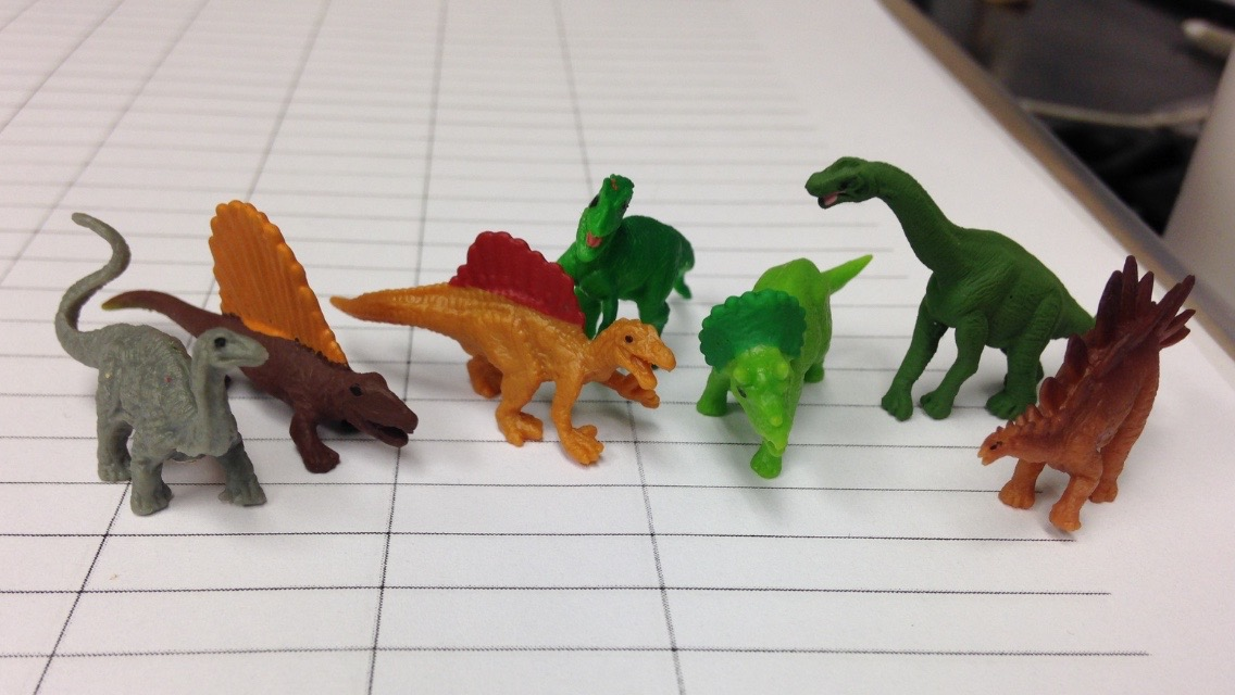 Behind the scenes of our reenactment of Jurassic Park.