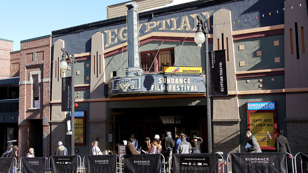The Egyptian Theater- if you premiere there, you're a big deal.