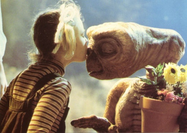 E.T. was the first movie Kathleen received producing credit for. It's also the first movie I remember watching. Coincidence or fate?