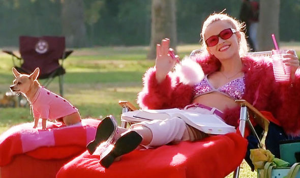 My homegirl, Elle Woods (Reese Witherspoon)
