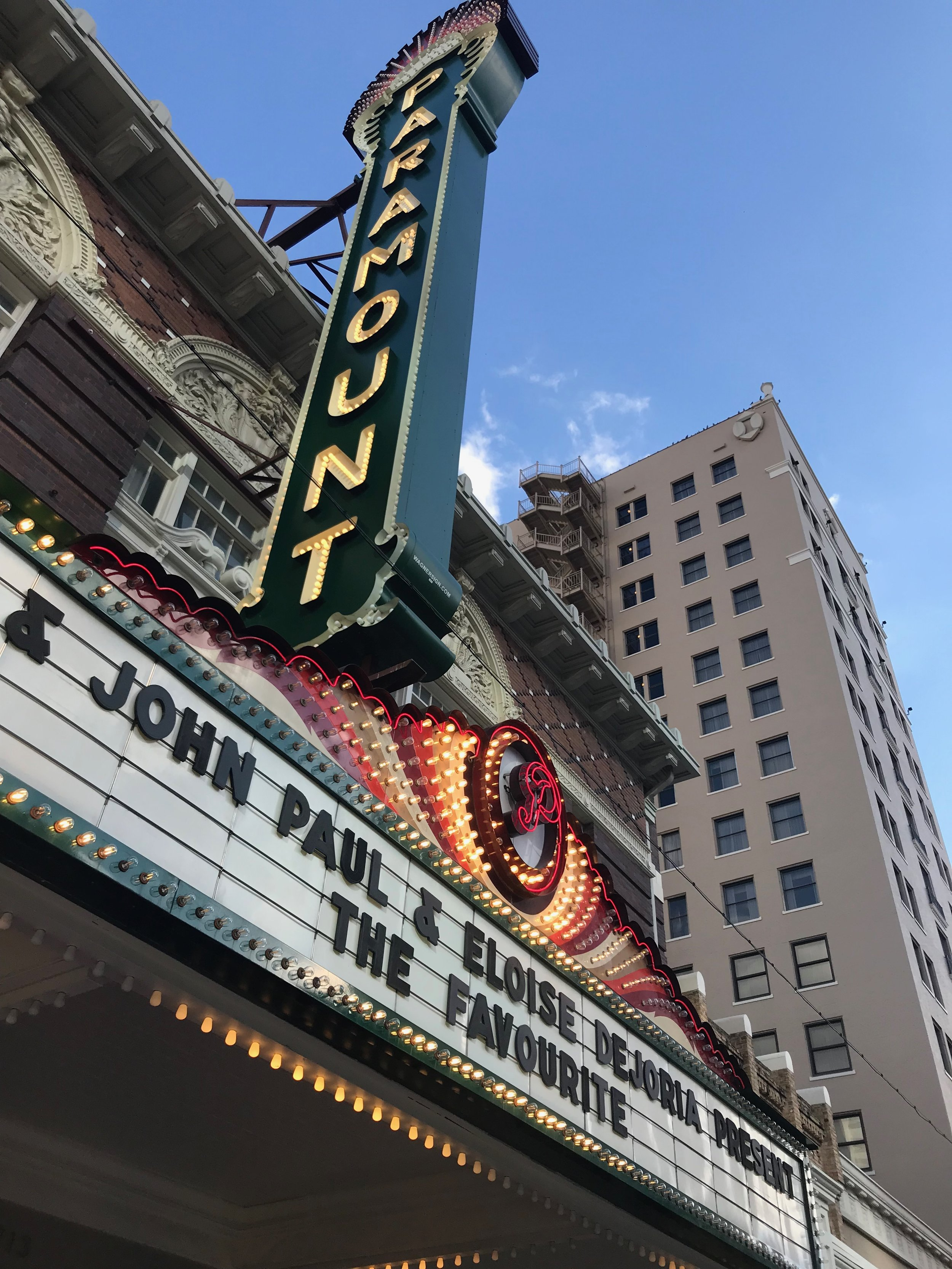 The Paramount Theatre- THE place to premiere your film in Austin